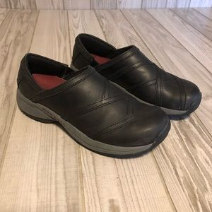 Merrell performance black slip on shoes